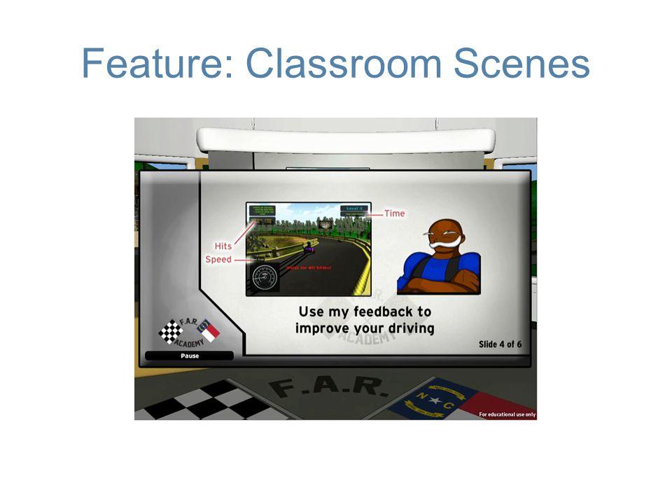 Feature: Classroom Scenes