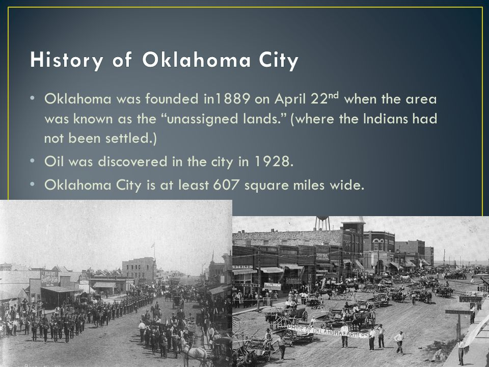 OKC is the largest city and the capitol of Oklahoma.
