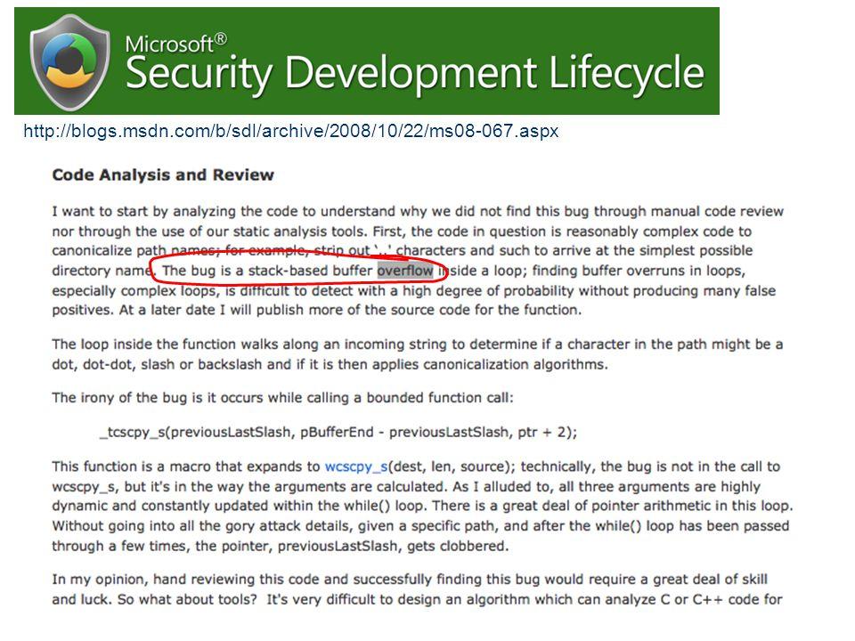http://blogs.msdn.com/b/sdl/archive/2008/10/22/ms08-067.aspx