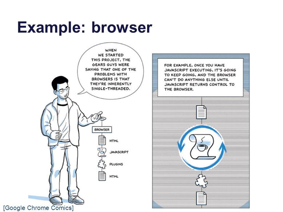 Example: browser [Google Chrome Comics]