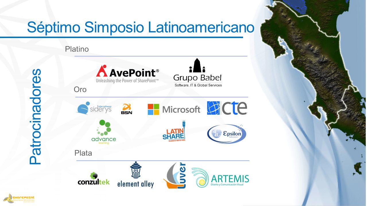 Patrocinadores Séptimo Simposio Latinoamericano