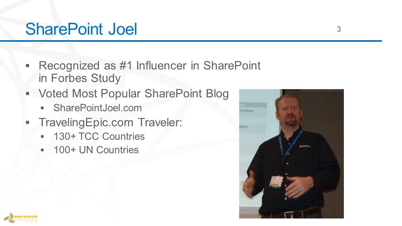 SharePoint Joel 3