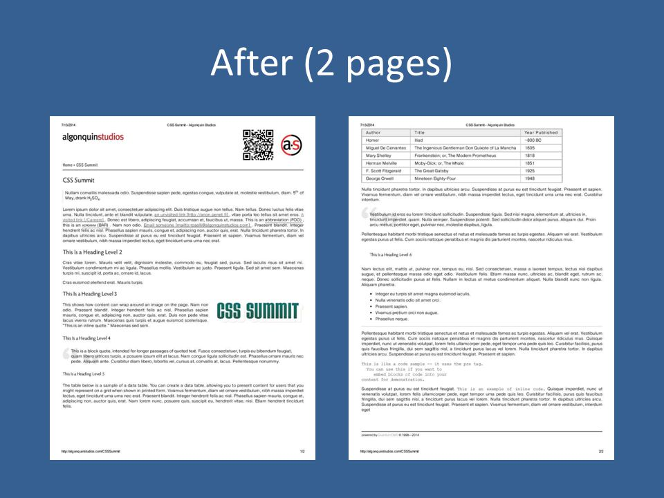 After (2 pages)