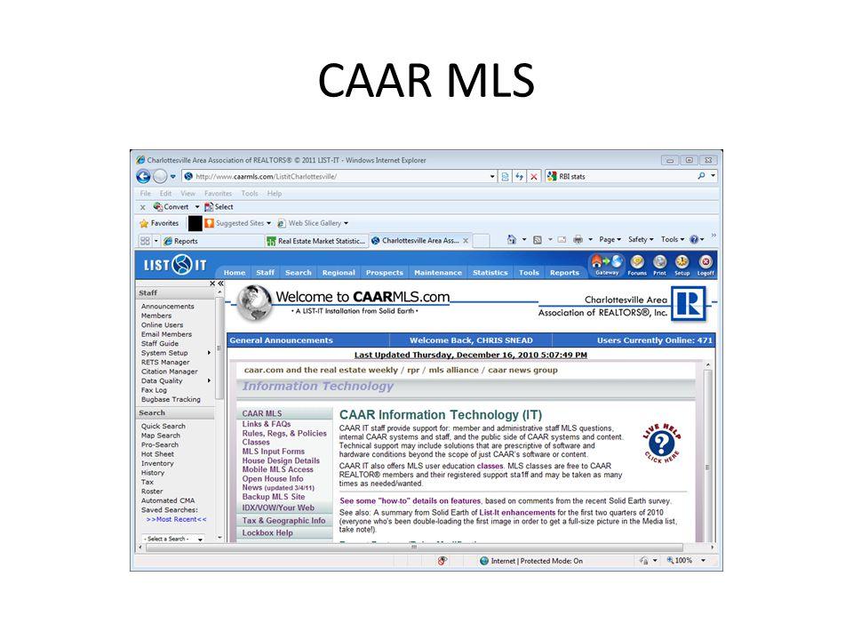 CAAR MLS
