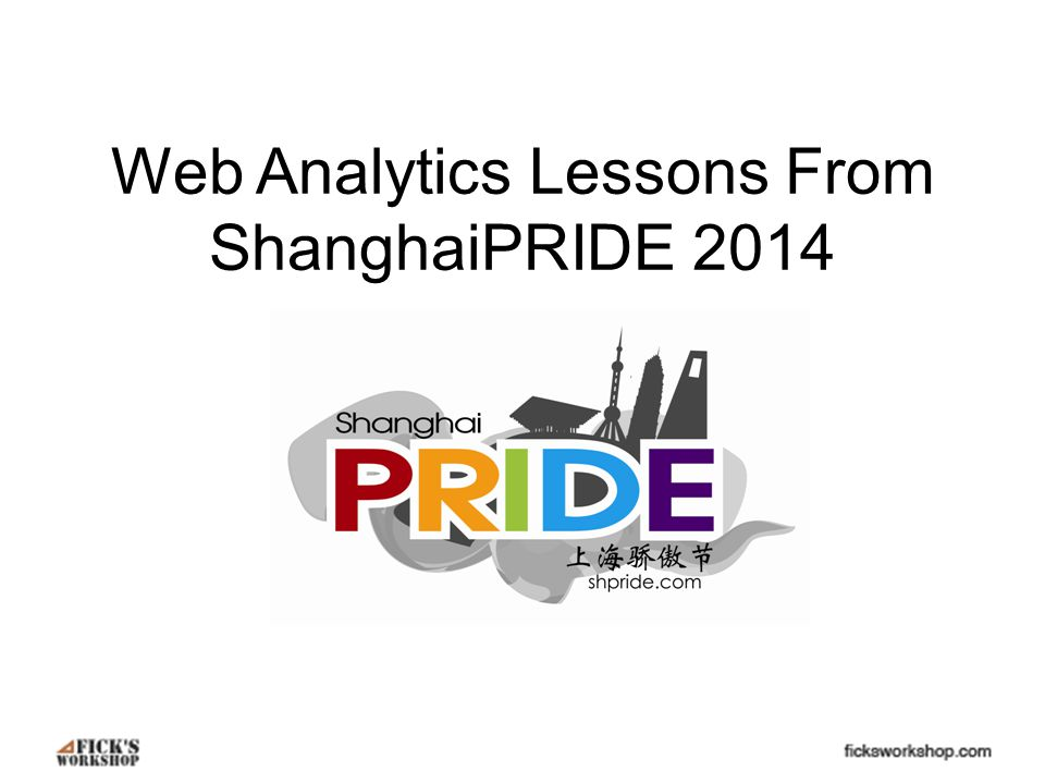 Overview ShanghaiPRIDE and shpride.com Mobile First, Desktop First Website Content Traffic Sources