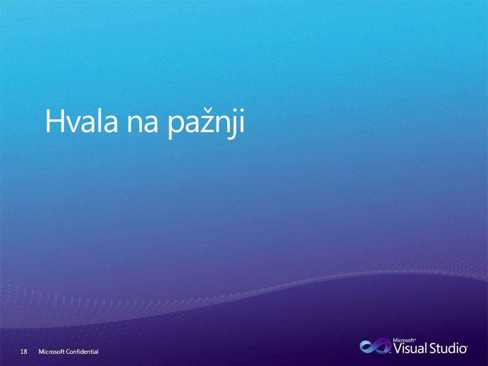 Microsoft Confidential18