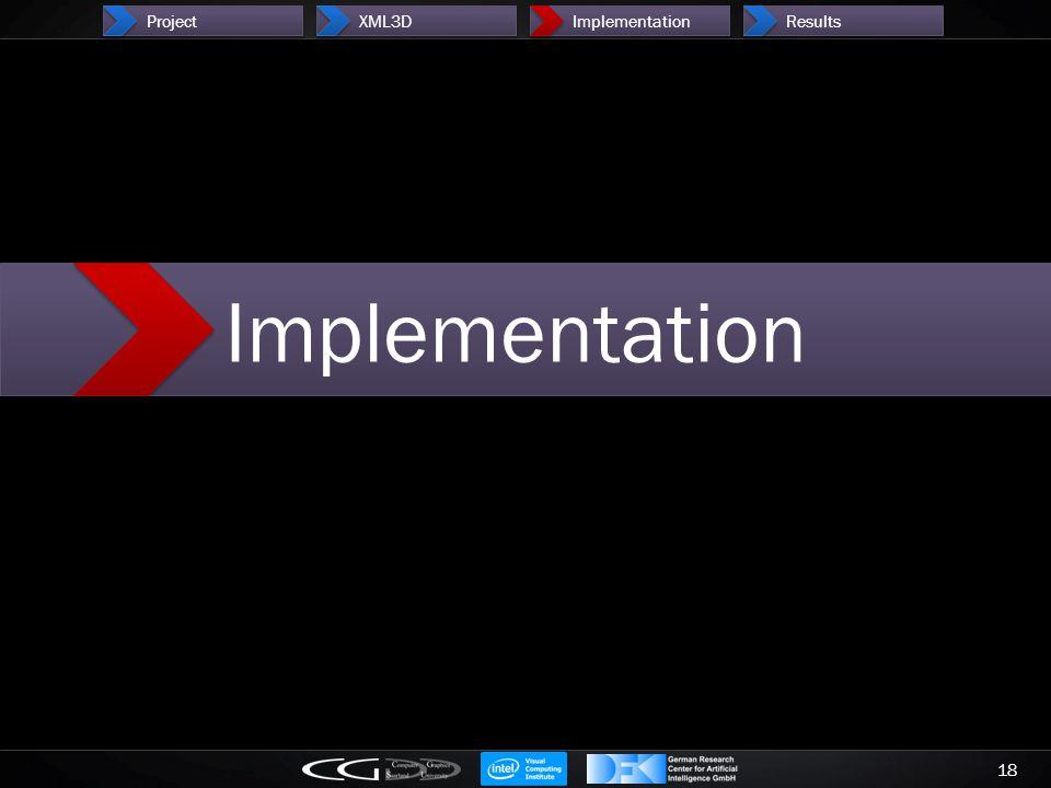 18 ProjectXML3DImplementationResults Implementation