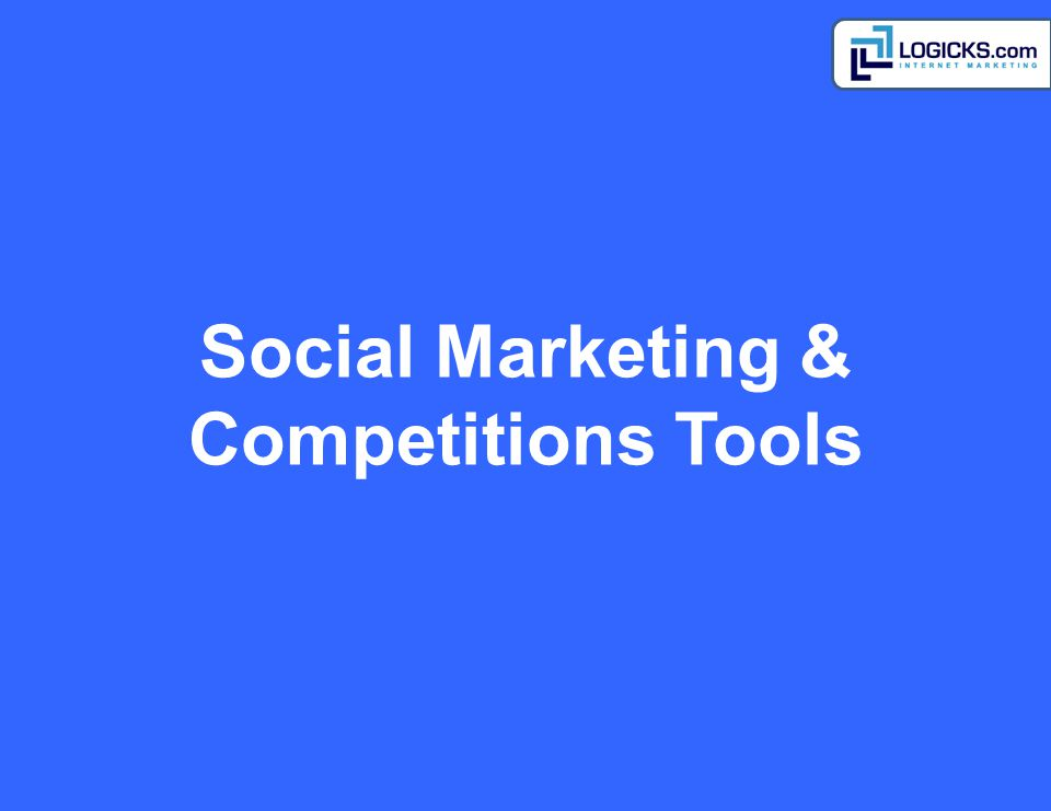 Social Marketing & Competitions Tools