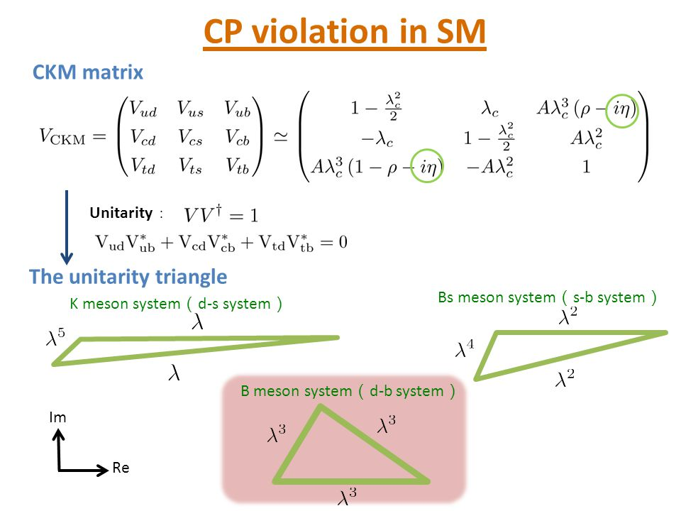 Progress of B physics measurements Rare decay of Bs meson [Bobeth et al.1311.0903] [LHCb+CMS] SM consistent