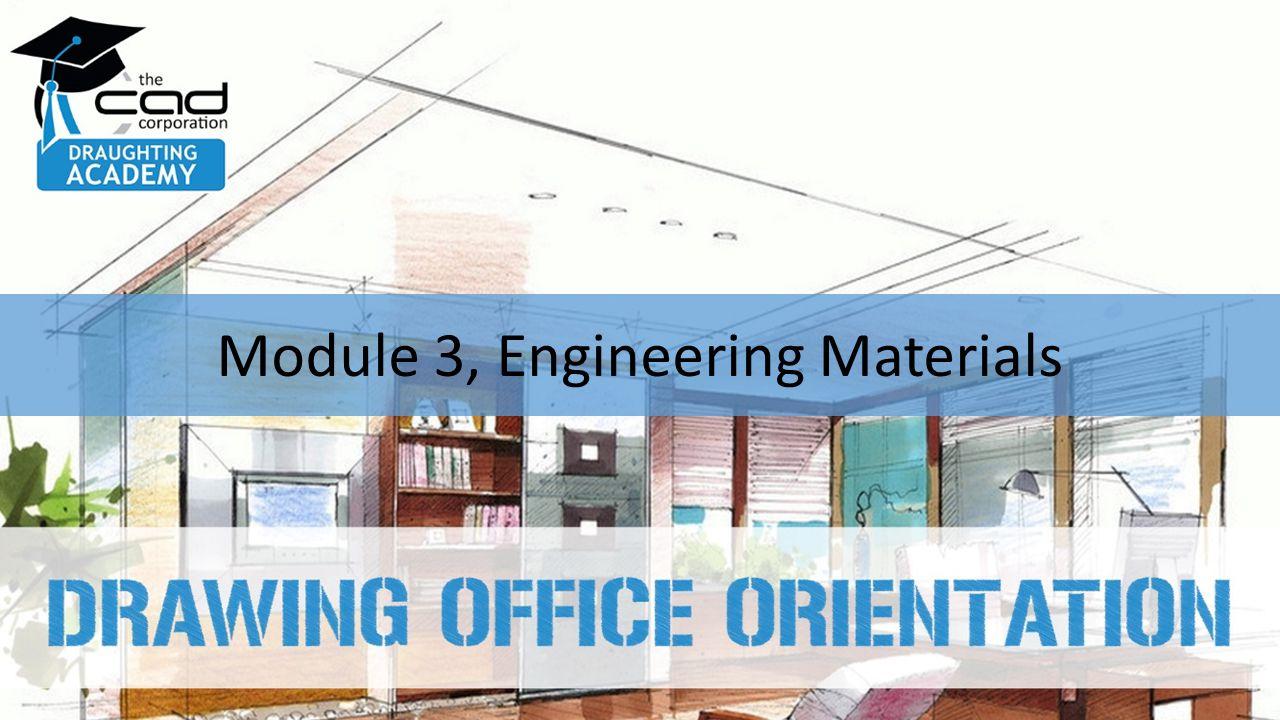 Module 3, Engineering Materials