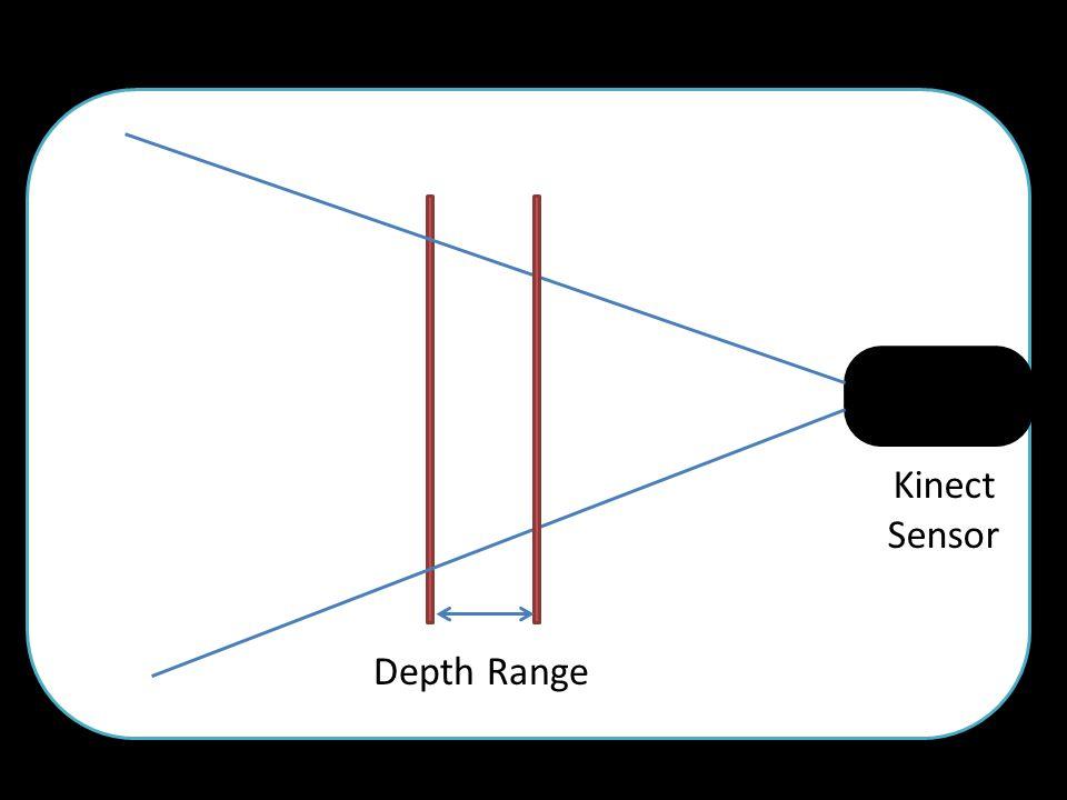 Depth Range Kinect Sensor