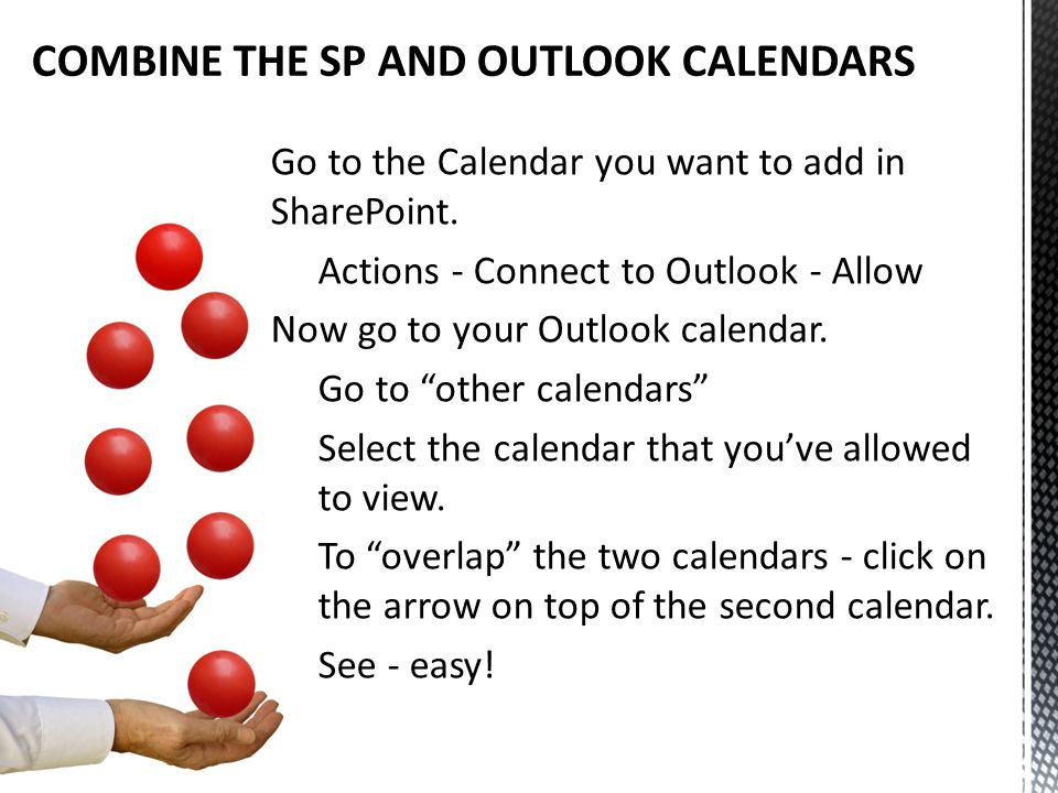 Go to the Calendar you want to add in SharePoint.