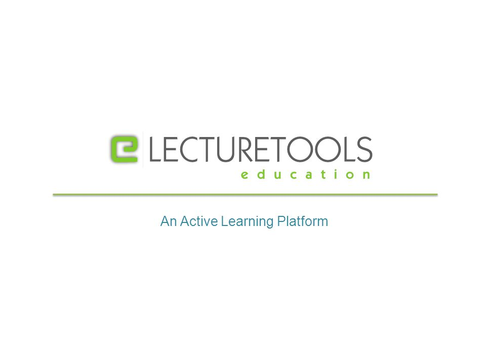 An Active Learning Platform