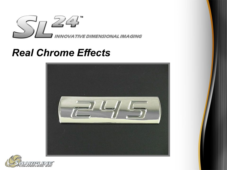 INNOVATIVE DIMENSIONAL IMAGING Real Chrome Effects