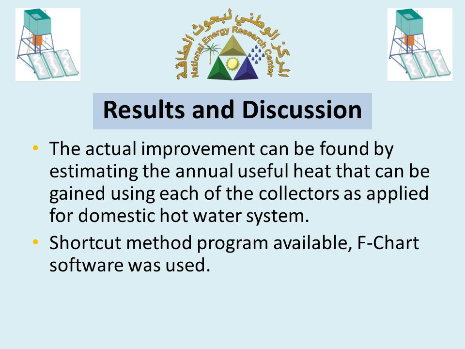 The results shows that annual difference heating delivered about 277 kWh per square meter of collector.