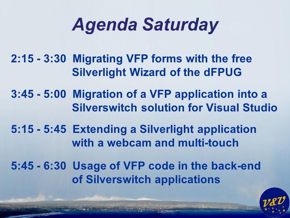 dFPUG – Silverlight Wizard * Finish.