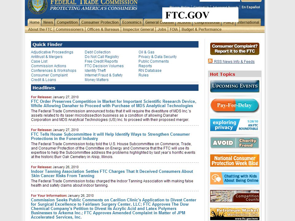 FTC.GOV