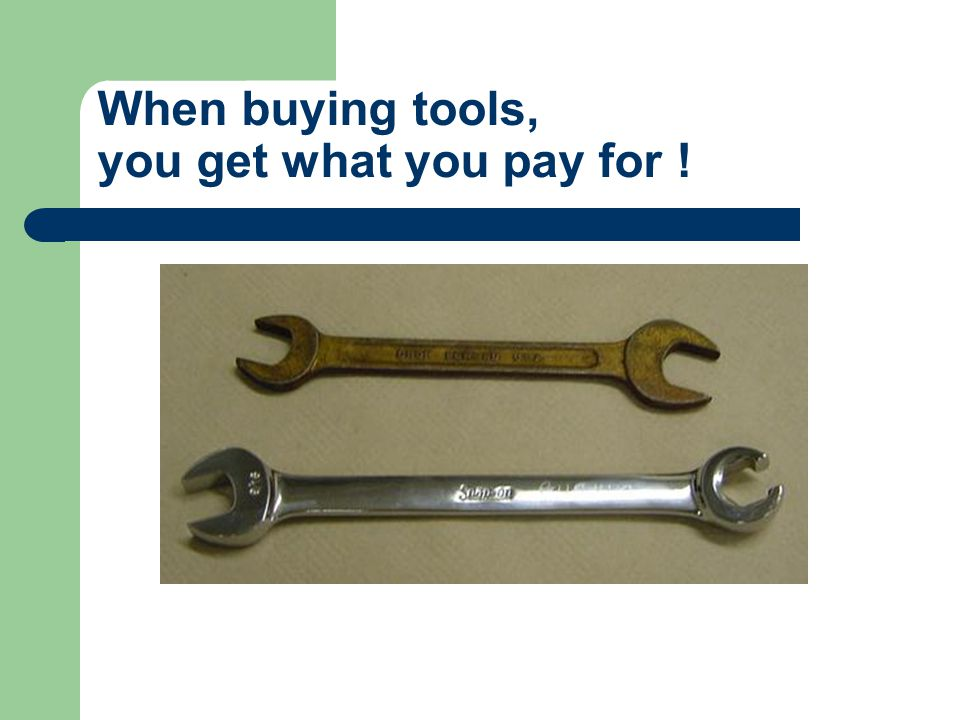 Holding Tools – C-clamp C-clamps hold parts on a work surface while: Drilling Filing Cutting Welding Or other operations