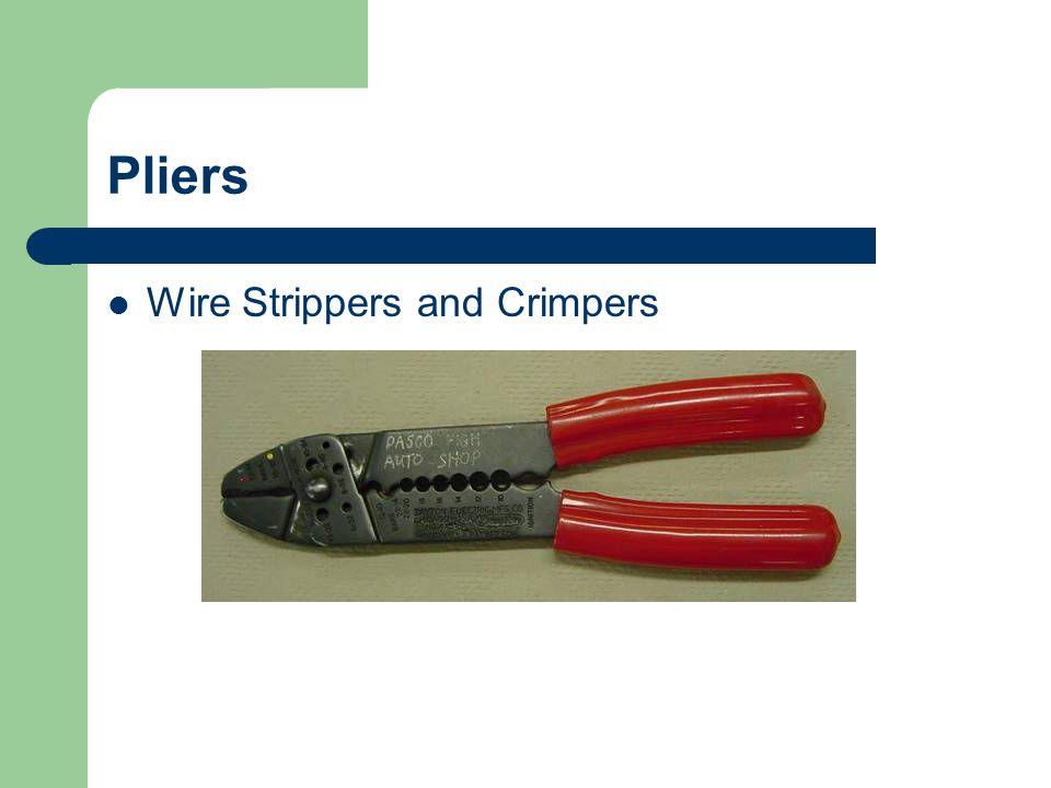 Pliers Pinch off hose pliers