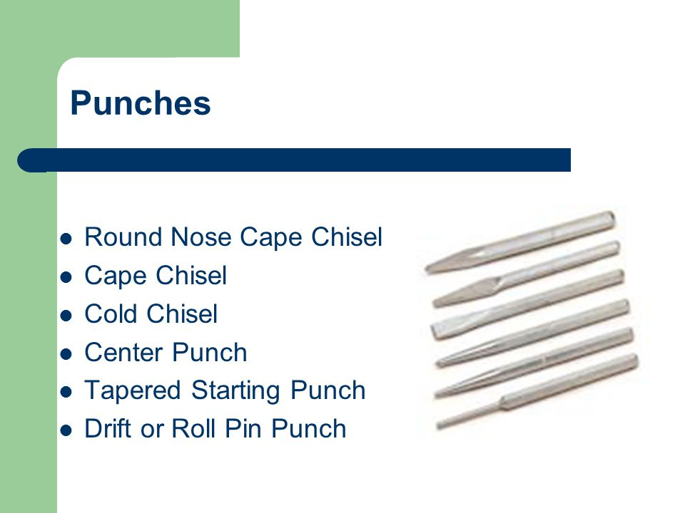 Chisels & Punches