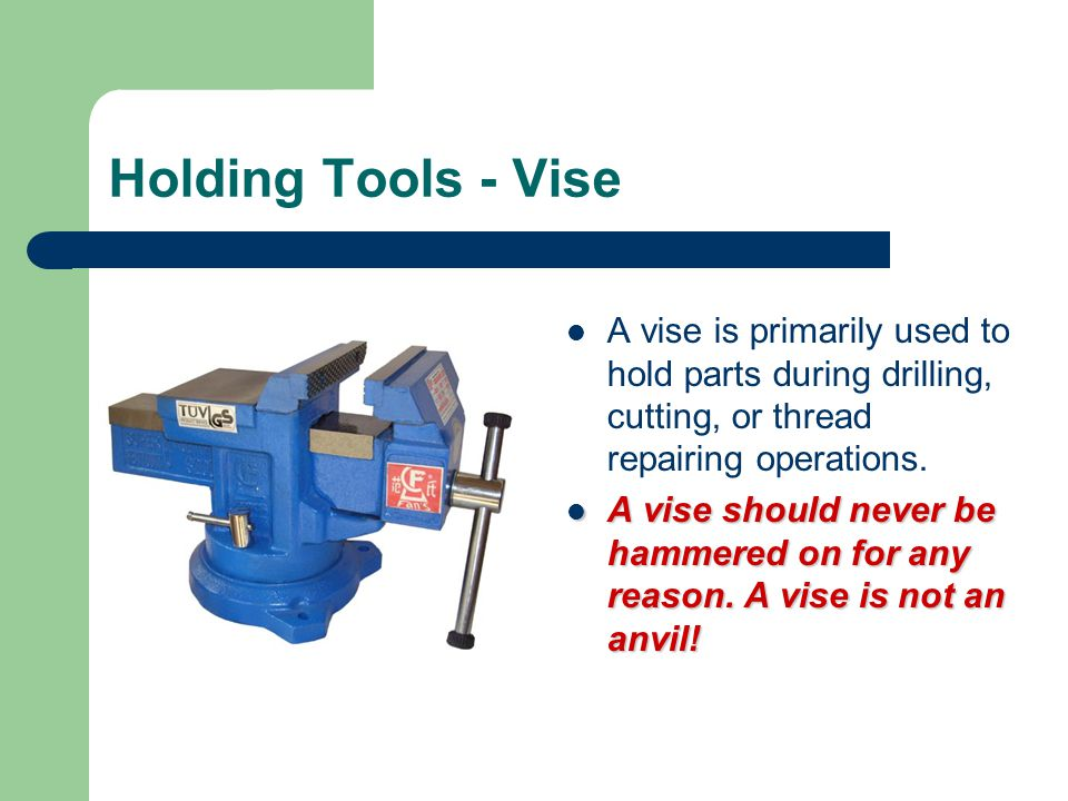 Hole saw Used to cut round holes in thin metal or wood or plastic