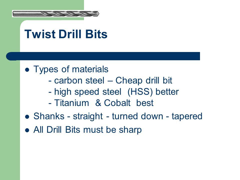 Twist Drill Bits