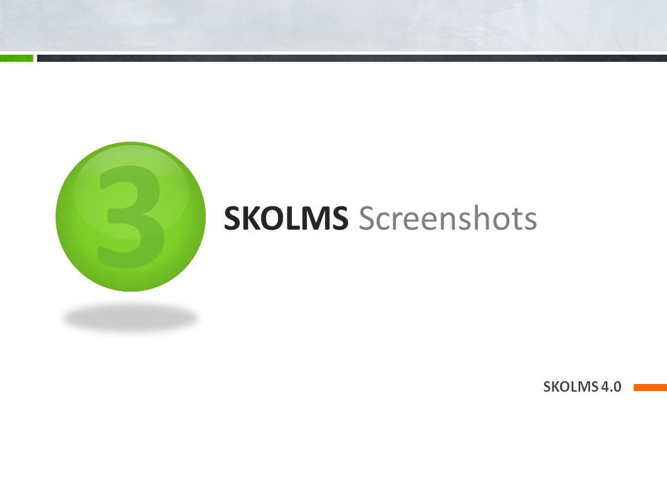 3 SKOLMS Screenshots SKOLMS 4.0