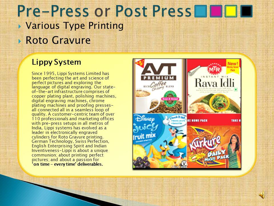  Various Type Printing VFC Pvt. Ltd.