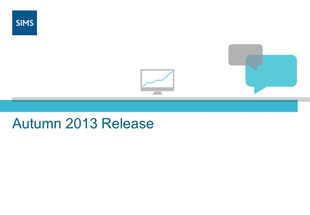Autumn 2013 Release