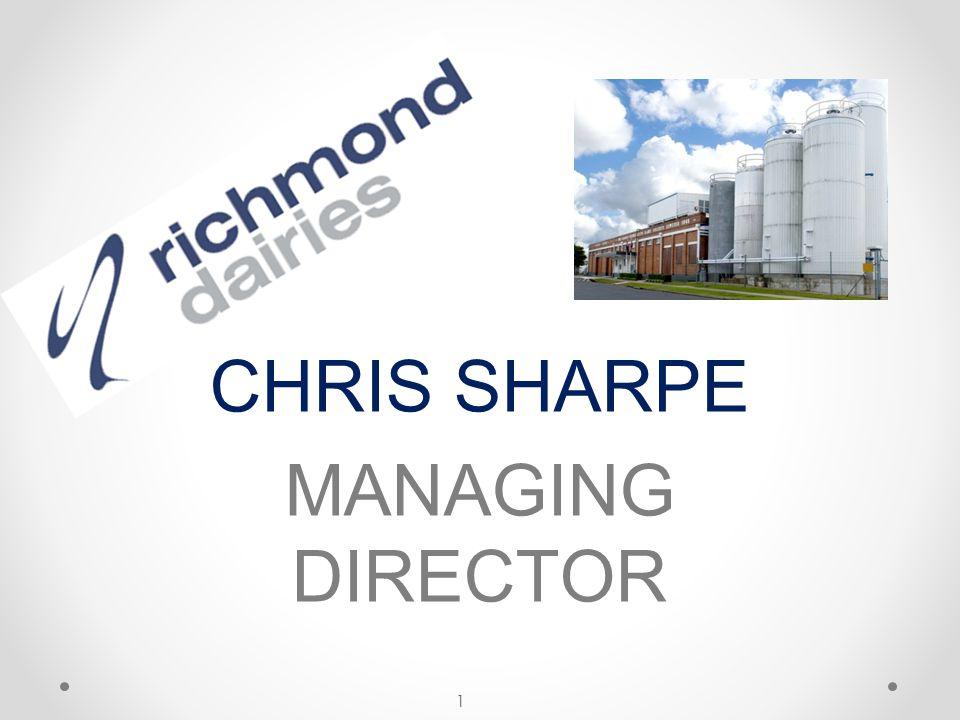 CHRIS SHARPE MANAGING DIRECTOR 1