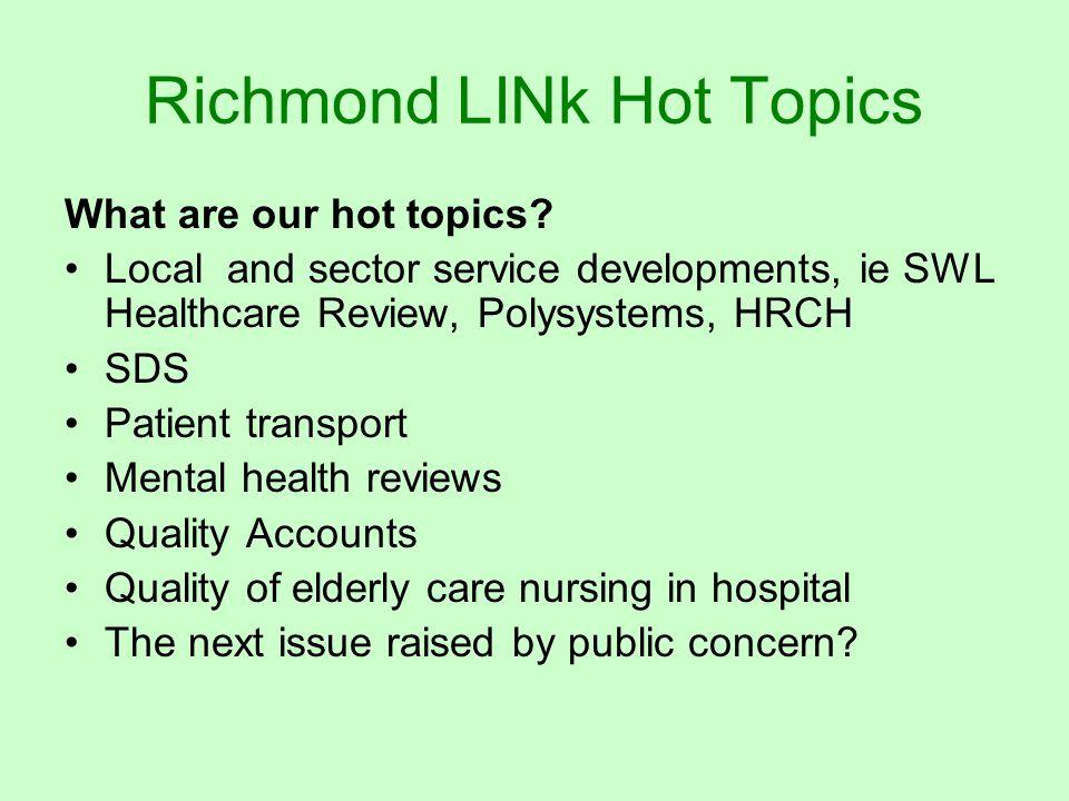 Richmond LINk Interested.
