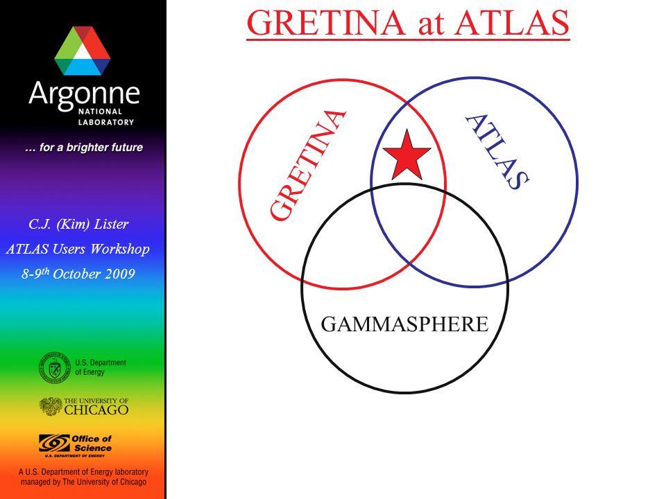 GRETINA at ATLAS C.J.