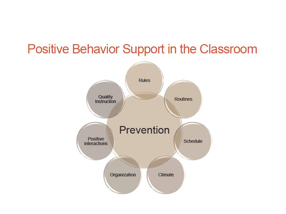 6 Behaviour Reduction Strategies Apply consistency Use the power of proximity Make direct eye contact Use a soft voice Be firm and anger-free Link the consequences to the expected behaviours Never accept excuses or bargaining