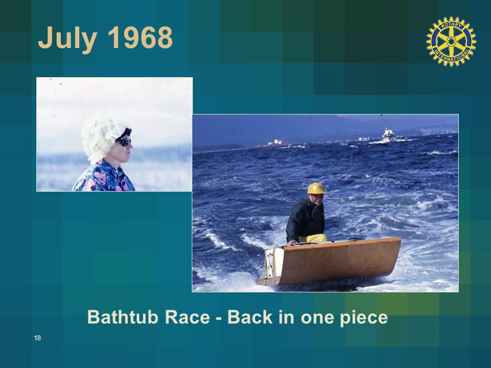 18 July 1968 Bathtub Race - Back in one piece