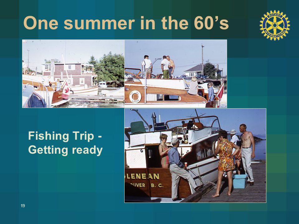 19 One summer in the 60's Fishing Trip - Getting ready
