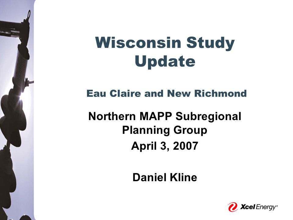 8 Outline  New Richmond Area  Various Load Serving Problems  Update on Progress Since Last Presentation  Eau Claire Area  Various Load Serving Problems  Update on Progress Since Last Presentation  Next Steps  Questions