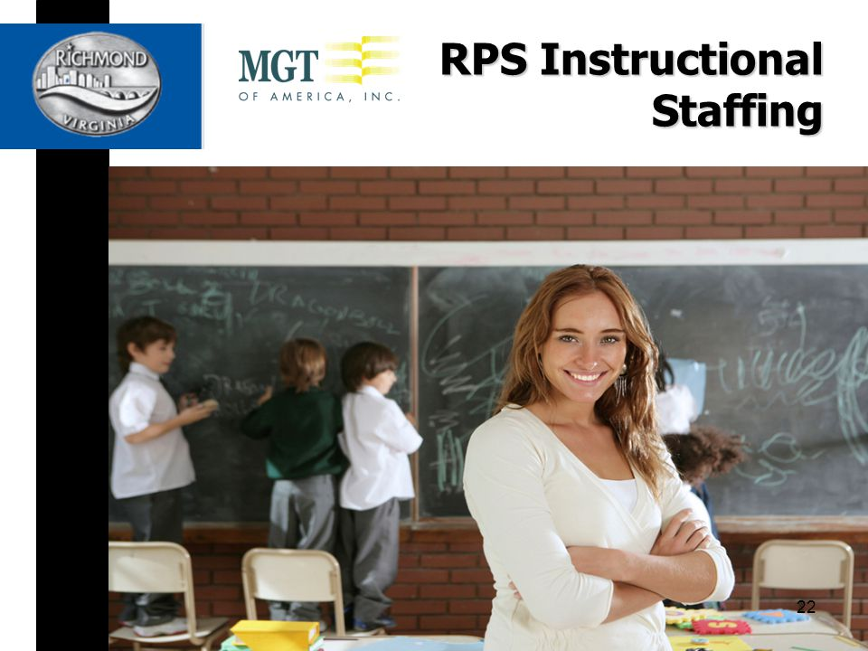 RPS Instructional Staffing 22