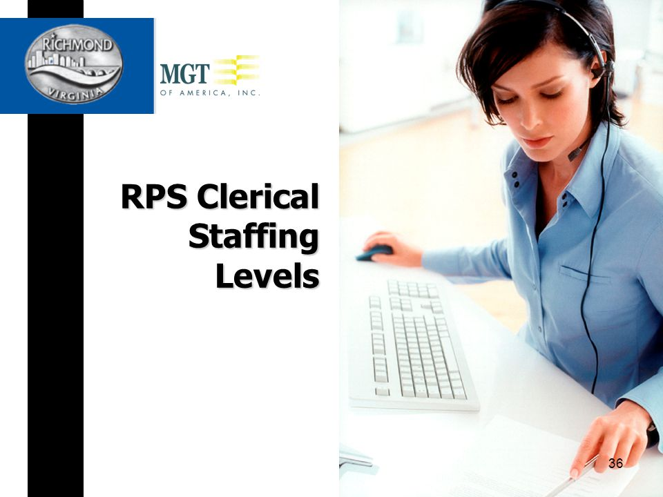 RPS Clerical Staffing Levels 36