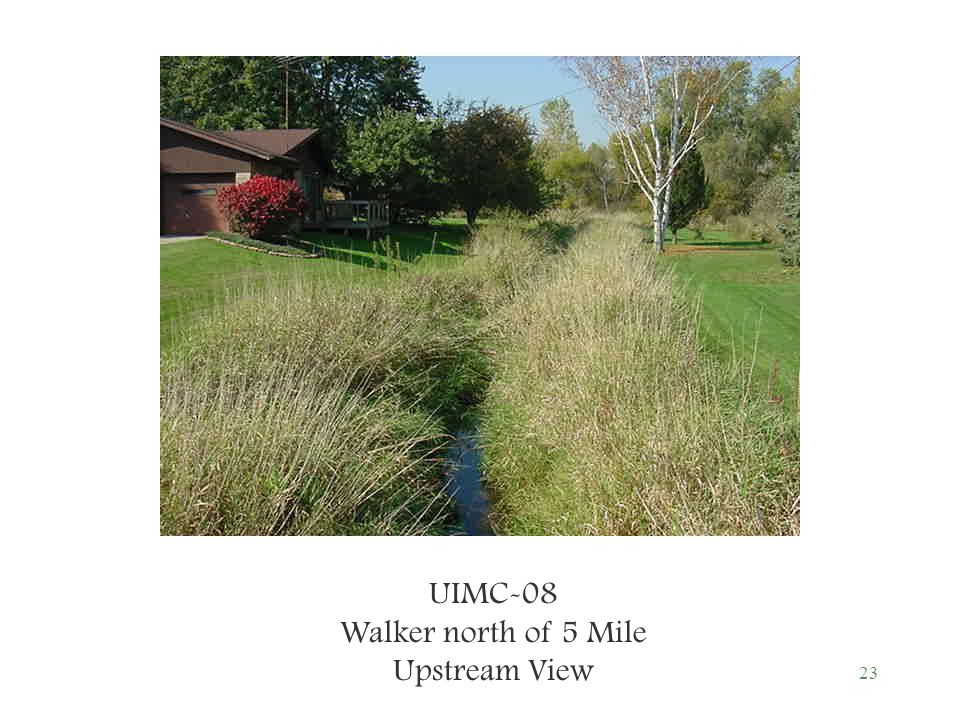 23 UIMC-08 Walker north of 5 Mile Upstream View