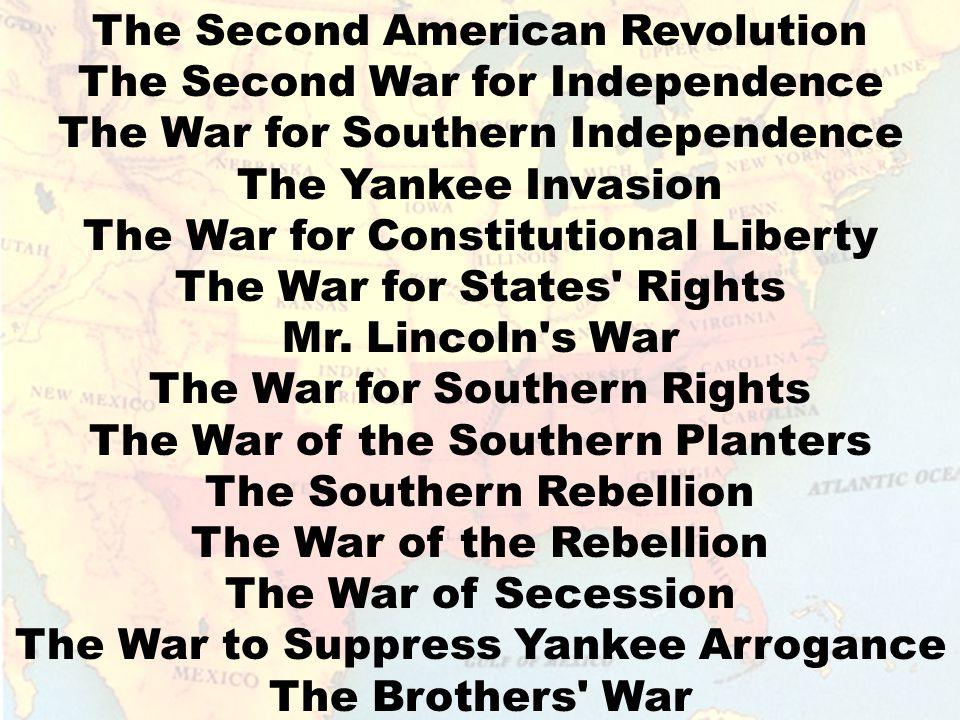 THE AMERICAN CIVIL WAR 1861 to 1865 THE AMERICAN CIVIL WAR 1861 to 1865