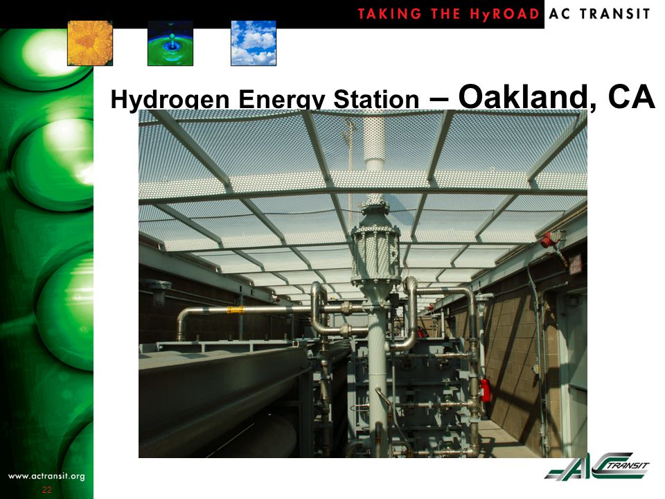 22 Hydrogen Energy Station – Oakland, CA