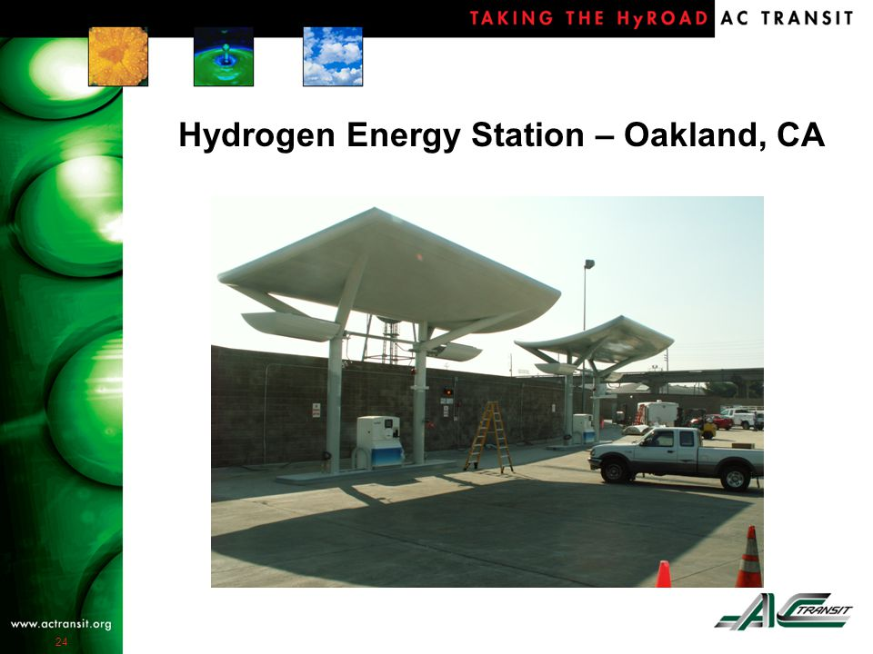 24 Hydrogen Energy Station – Oakland, CA