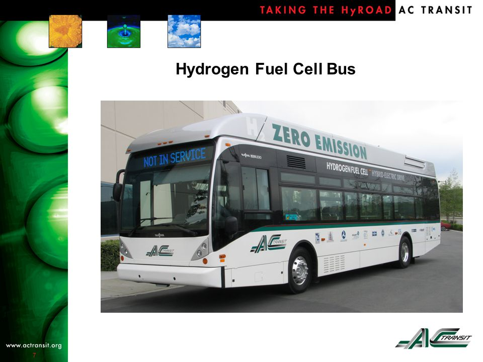 7 Hydrogen Fuel Cell Bus