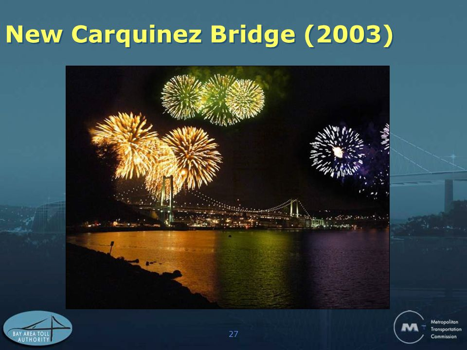 27 New Carquinez Bridge (2003)