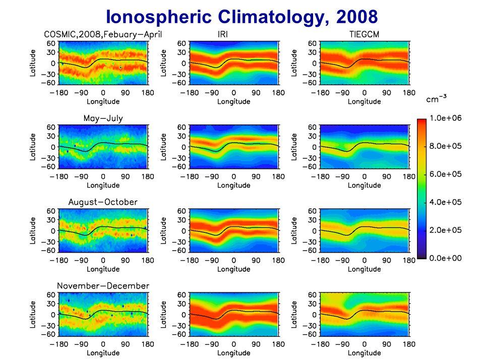 Ionospheric Climatology, 2008 12