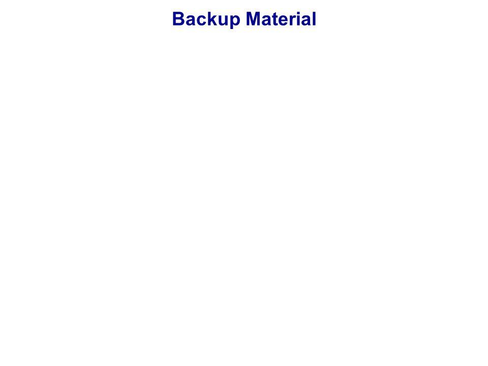 Backup Material