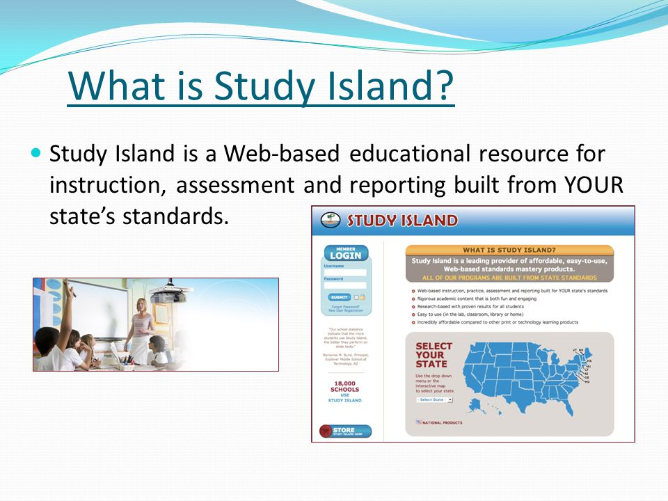What is Study Island.