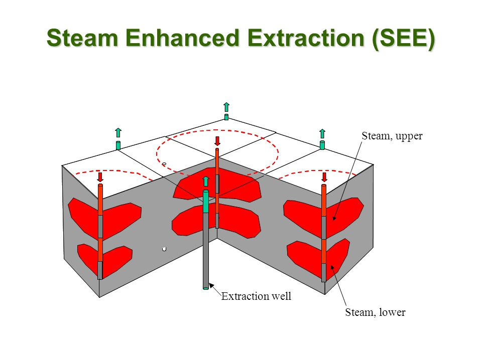 Steam Enhanced Extraction (SEE)