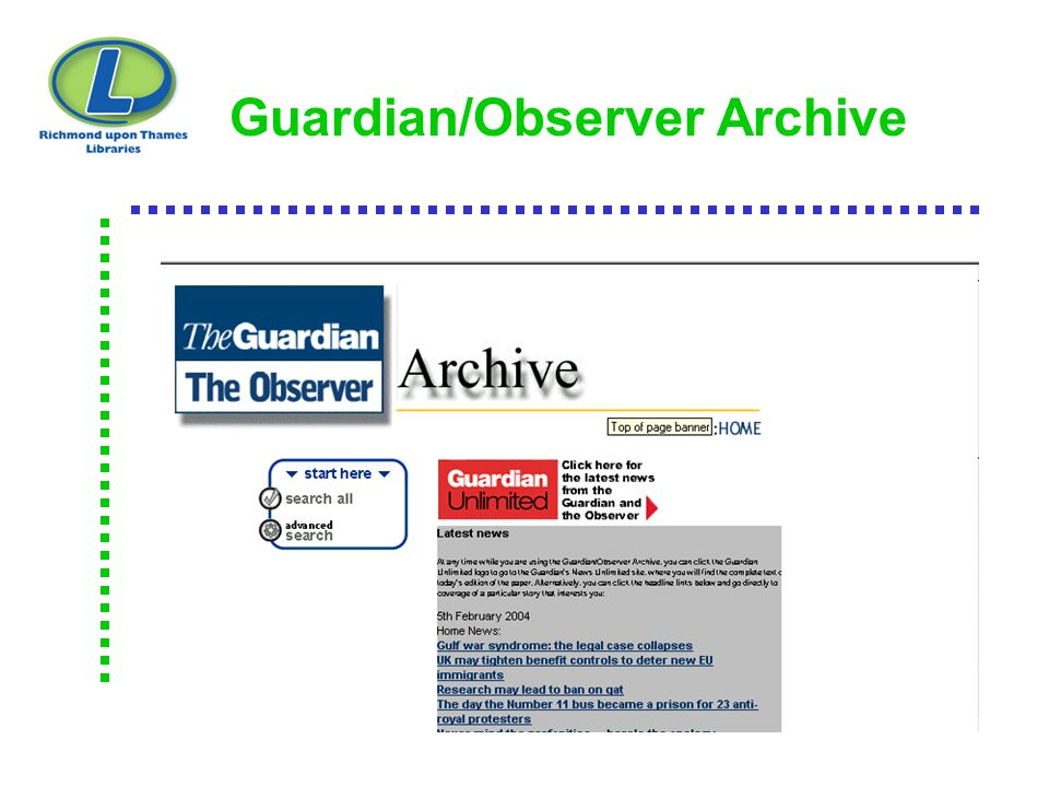 Guardian/Observer Archive