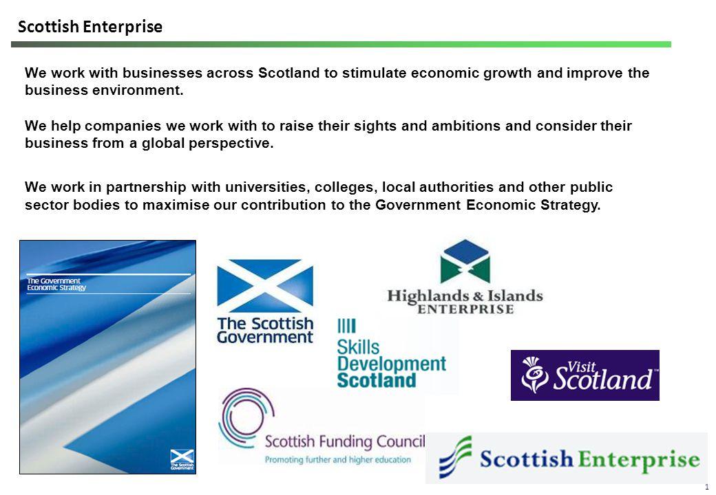 Scottish Enterprise - where we are 2